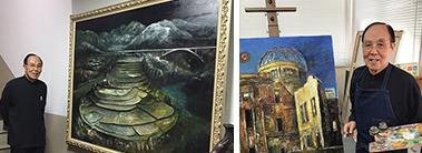 河合 福三 日本現代美術協会会長